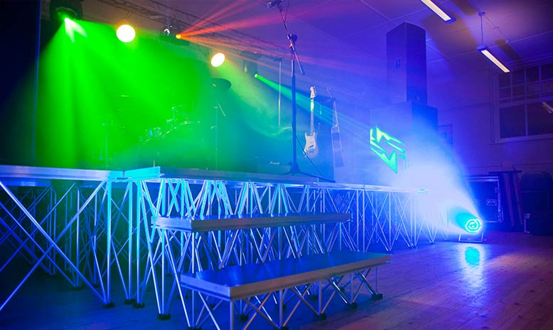Stage Hire for Live Shows